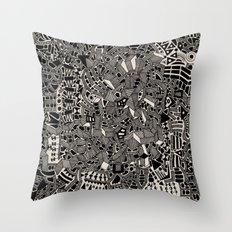 - blackout - Throw Pillow