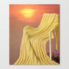 the fabric of reality (soft) Canvas Print