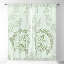 Succulent Sprite - aeonium sunburst Blackout Curtain
