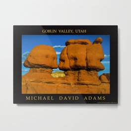 Goblin Valley, Utah Metal Print