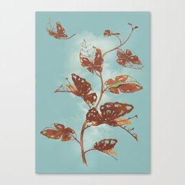 """ Leaf Cutter "" Canvas Print"