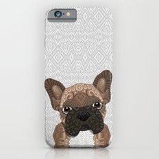 Brown Frenchie Puppy 001 Slim Case iPhone 6s