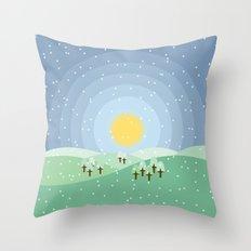 Hibernum Throw Pillow