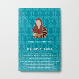 The Empty Hearse - Molly Hooper Metal Print