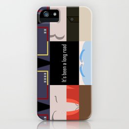 It's been a long road - Star Trek: Enterprise ENT - startrek Trektangle minimalist - trektangles iPhone Case