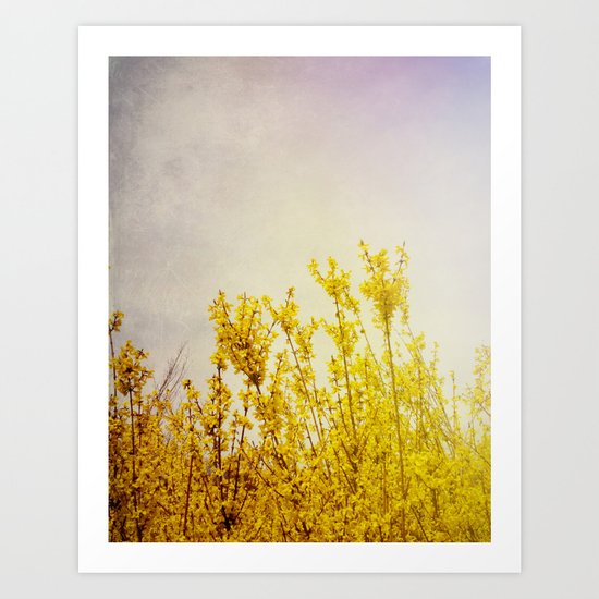 And it Was All Yellow Art Print