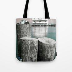 Lake house Tote Bag
