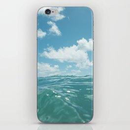 Hawaii Water IV iPhone Skin
