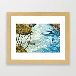 The Collision Framed Art Print