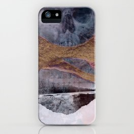 Skull Play 1 iPhone Case