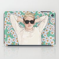 niall iPad Cases featuring Niall daisies field by Coconut Wishes