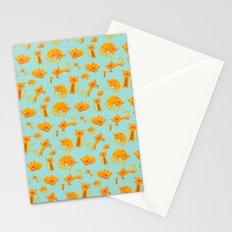 Kitty pattern Stationery Cards