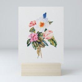 Loose Spring Bouquet Mini Art Print