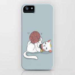Playful Maneki Neko iPhone Case