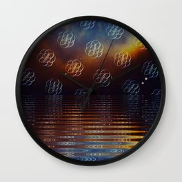 The Path Home Wall Clock