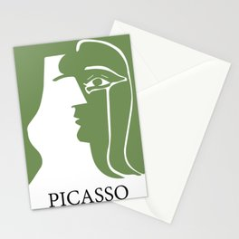 Picasso- First kiss Stationery Cards