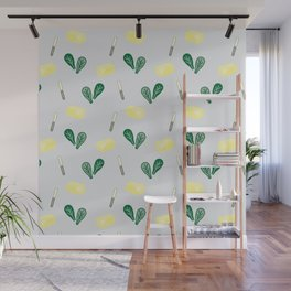 Butter & Spinach Wall Mural