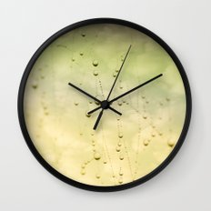 Sky Waterdrops Wall Clock
