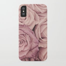 Some People Grumble - Pink Rose Pattern - Roses iPhone Case