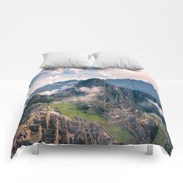 Mountain Peru Comforters