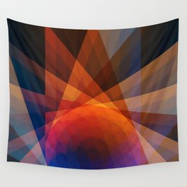 A Receptive Mind is Connected Wall Tapestry