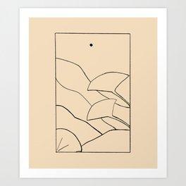 Ginkgos Art Print