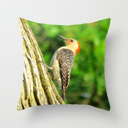 Red-bellied Woodpecker 1 Throw Pillow