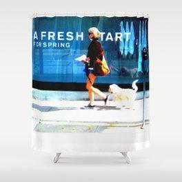 A Fresh Tart Shower Curtain