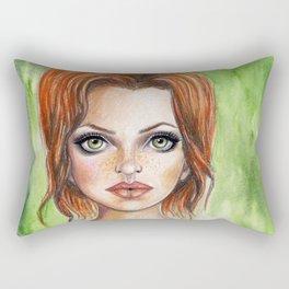 Your Eyes Only Rectangular Pillow
