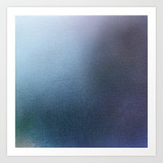 Blue Sea Abstract Art Print