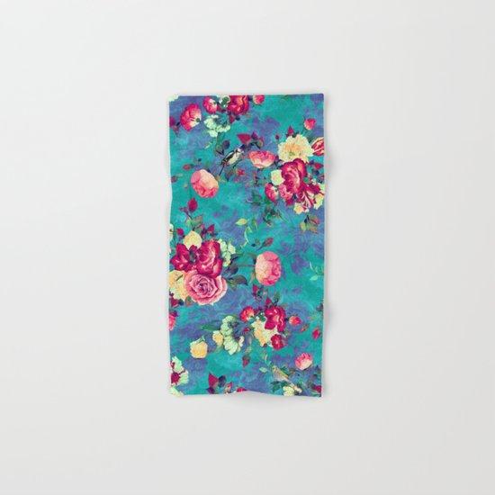 Flowers & Birds II Hand & Bath Towel