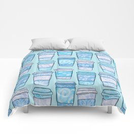Coffee Cups | Blues Palette Comforters