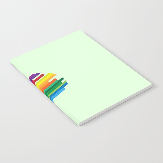 Colouring your world Notebook