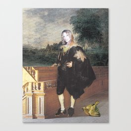 Portrait of the Artist as a Young Man Canvas Print