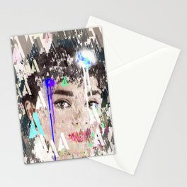 Audrey Type Abstract Art Stationery Cards