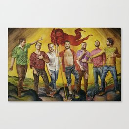 Sorte Canvas Print