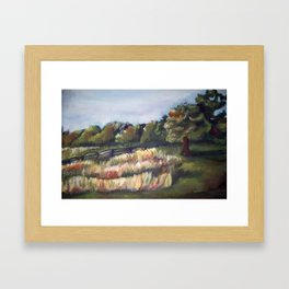 Gettysburg Battlefield Framed Art Print