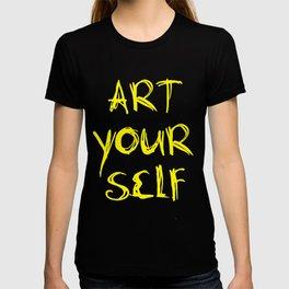 Art Your Self T-shirt