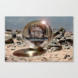 Die Strandkugel ! Canvas Print