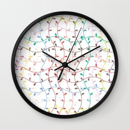 Spring Sprouts Wall Clock