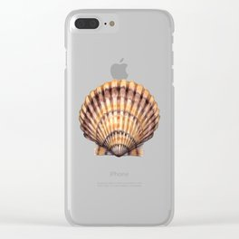 Bay Scallop Clear iPhone Case