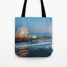 Wheel of Fortune - Santa Monica, California Tote Bag