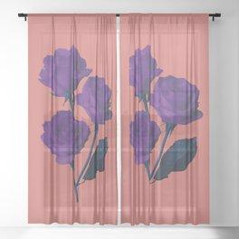 Les Fleurs du Mal Sheer Curtain
