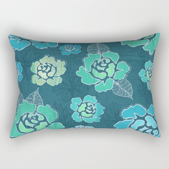 Violets Rectangular Pillow