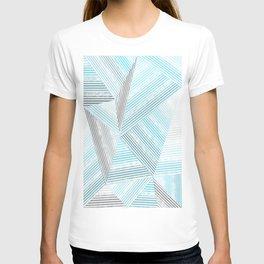 Blue lines 2 T-shirt