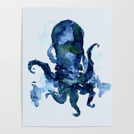 Oceanic Octo Poster