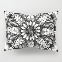 FlowerMandala Pillow Sham