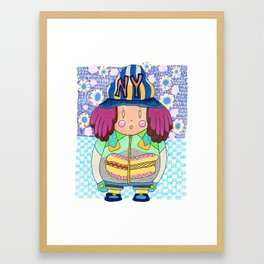 Hot Dogs Framed Art Print