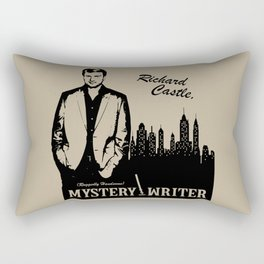 Richard Castle, Mystery Writer Rectangular Pillow