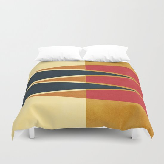 Abstract #42 Duvet Cover